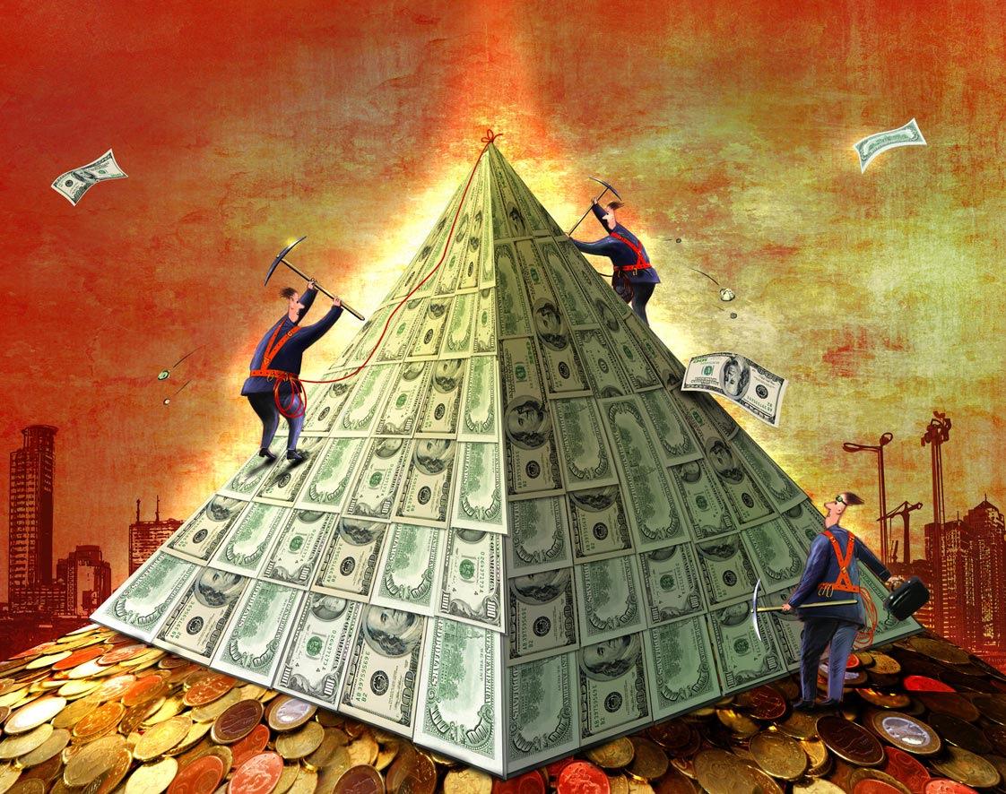 Финансовая пирамида – это